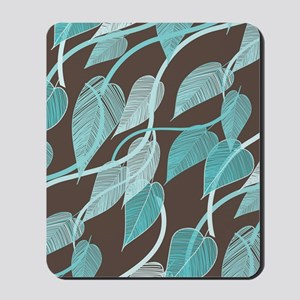 Leaves Pattern Mousepad