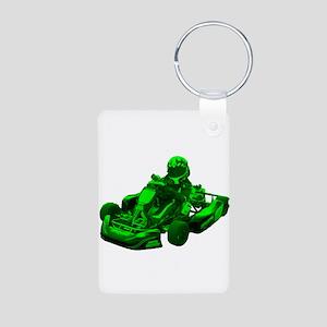 Go Kart in Green Keychains