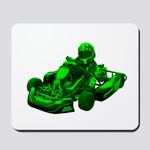 Go Kart in Green Mousepad