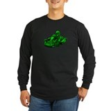 Go kart racing Long Sleeve Dark T-Shirts