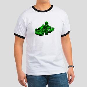 Go Kart in Green T-Shirt