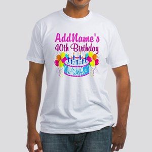 40TH PARTY Fitted T-Shirt