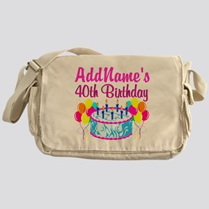 40TH PARTY Messenger Bag