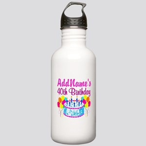 40TH PARTY Stainless Water Bottle 1.0L