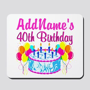 40TH PARTY Mousepad