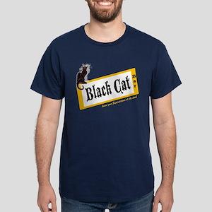 Black Cat Bar Dark T-Shirt