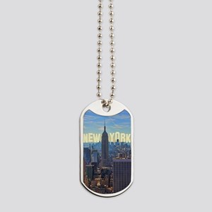Empire State Building from the Top of the Dog Tags