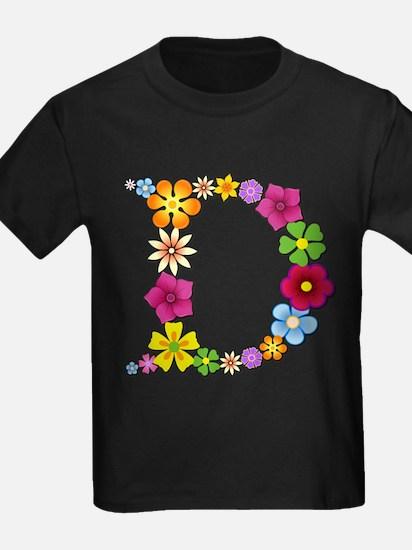 D Bright Flowers T-Shirt
