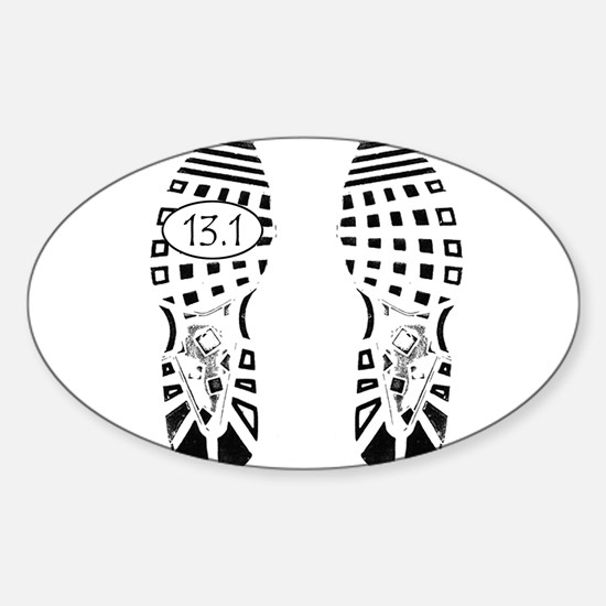 13.1a shoeprint shirt Decal