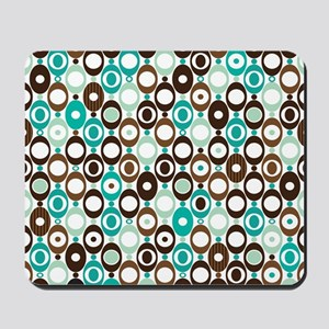 Retro Circles Mousepad