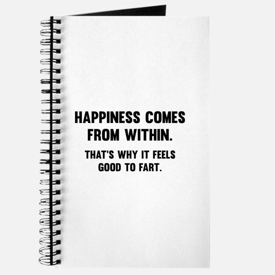 Happiness Comes From Within Journal