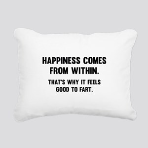 Happiness Comes From Within Rectangular Canvas Pil