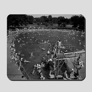 Ottumwa Municipal Swimming Pool Mousepad