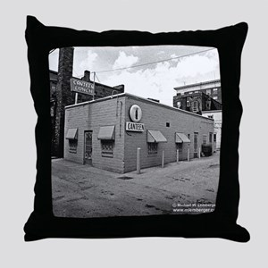 The Canteen Throw Pillow