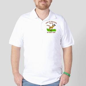 horseA79dark Golf Shirt