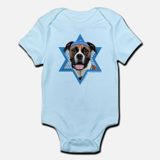 Hanukkah Star of David - Boxer Infant Bodysuit