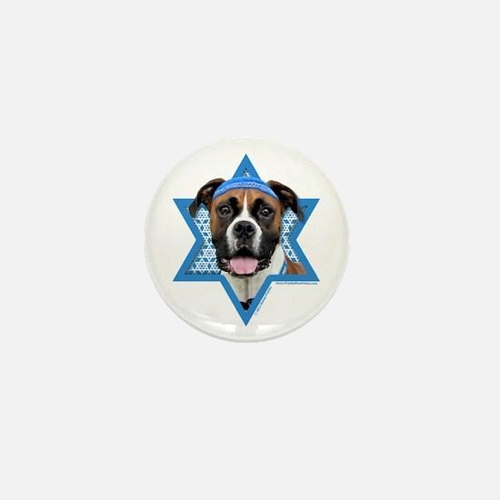 Hanukkah Star of David - Boxer Mini Button