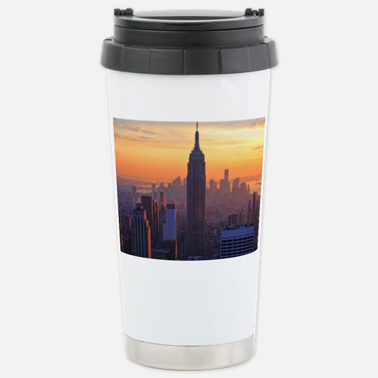 Empire State Building,  Stainless Steel Travel Mug