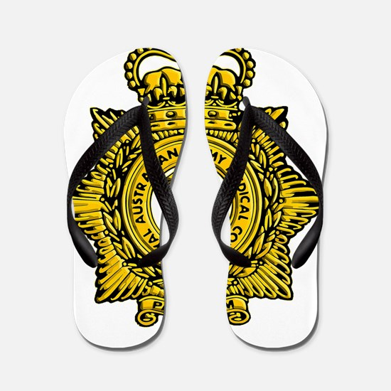 RAAMC badge Flip Flops