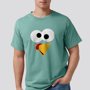 Funny Thanksgiving Turke Mens Comfort Colors Shirt