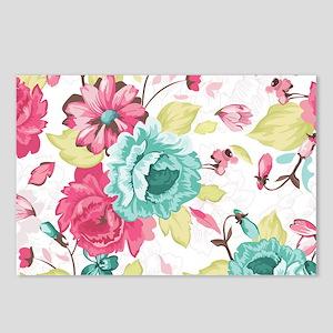 Elegant Flowers Postcards (Package of 8)