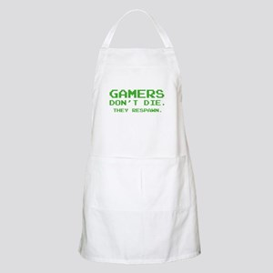 Gamers Don't Die. They Respawn. Apron