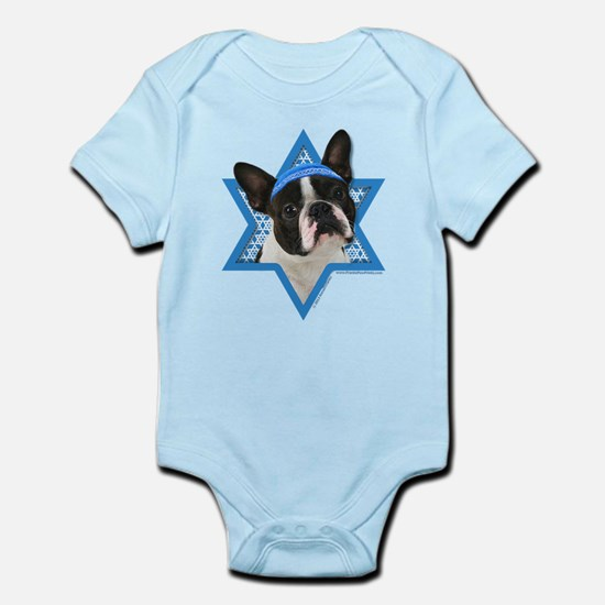 Hanukkah Star of David - Boston Infant Bodysuit