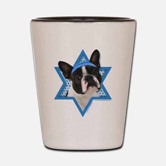 Hanukkah Star of David - Boston Shot Glass