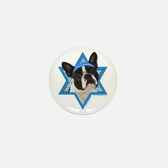 Hanukkah Star of David - Boston Mini Button
