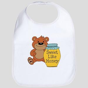Sweet Like Honey Bear Bib