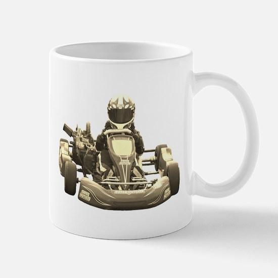 Go Kart Antiqued Mugs