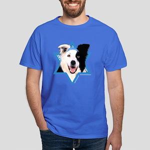Hanukkah Star of David - Border Dark T-Shirt