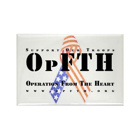 OpFTH Rectangle Magnet (100 pack)