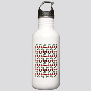 Cherry Stainless Water Bottle 1.0L
