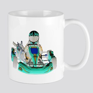 Go Kart inverted color Mugs