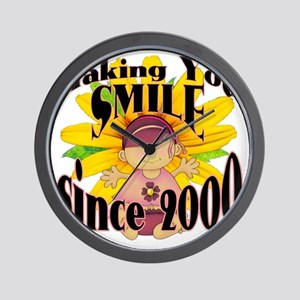 Making you smile Wall Clock