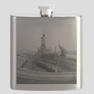 Brooklyn Navy Yard Dry Dock Flask