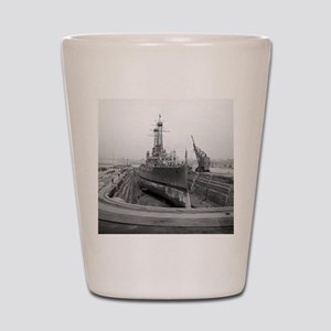Brooklyn Navy Yard Dry Dock Shot Glass