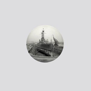 Brooklyn Navy Yard Dry Dock Mini Button