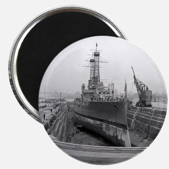 Brooklyn Navy Yard Dry Dock Magnet