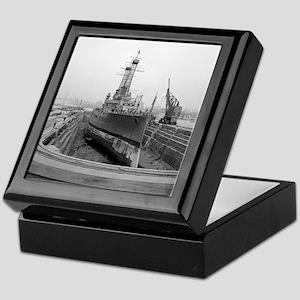 Brooklyn Navy Yard Dry Dock Keepsake Box