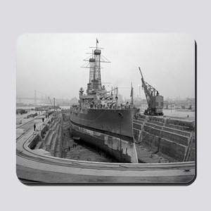 Brooklyn Navy Yard Dry Dock Mousepad