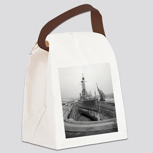 Brooklyn Navy Yard Dry Dock Canvas Lunch Bag