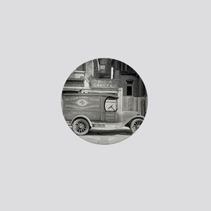 Candy Delivery Truck Mini Button
