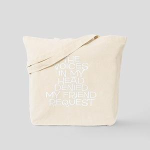 friend request Tote Bag
