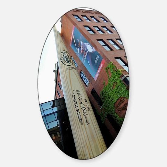 The Bat Sticker (Oval)