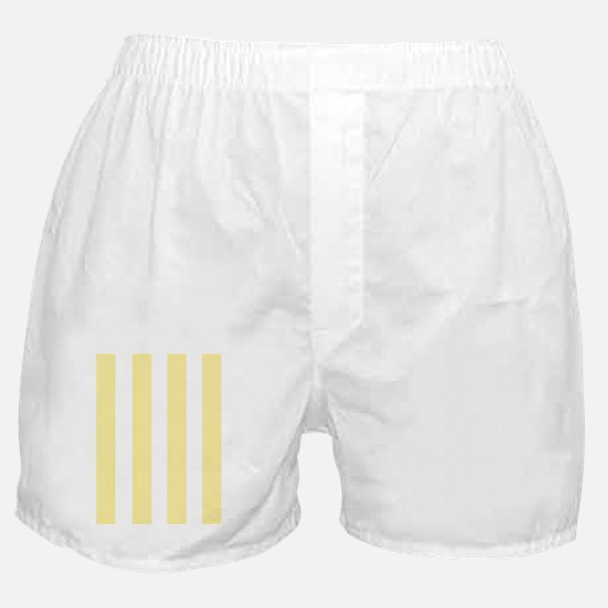 Banana Yellow Stripes Boxer Shorts