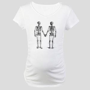 Skeletons Maternity T-Shirt