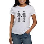 Skeletons Women's Classic White T-Shirt