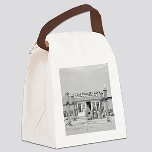 Texas Truck Stop Canvas Lunch Bag
